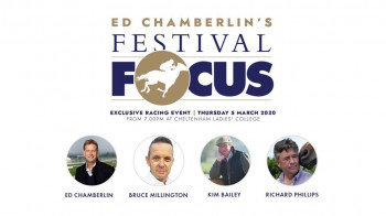 Ed Chamberlain's Festival Focus